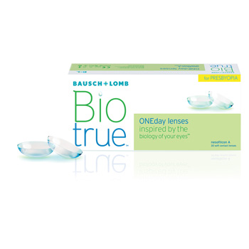 Bio True Presbyopia Packaging