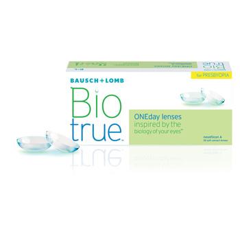 Bio True Presbyopia Packaging