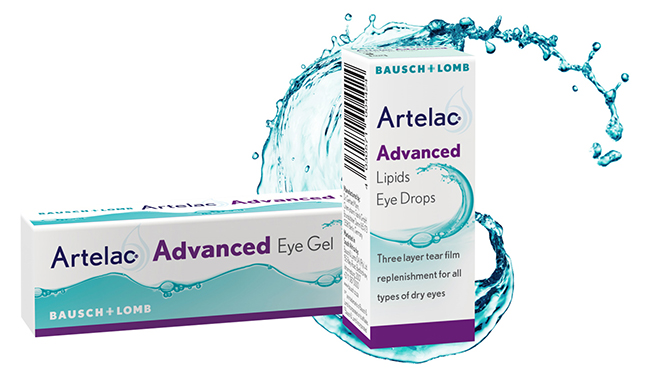 Artelac Advanced Eye Gel and Eye Drops